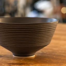 ARITA PORCELAIN LAB(アリタ・ポーセリン・ラボ)/丼 sabi/錆|有田焼 マットなこげ茶の風合いは、現代のライフスタイルに合うシンプル和モダンな質感