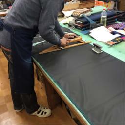 創業1866年槙田商店/ジャカード織 長傘(雨傘) kirie(キリエ)更紗 熟練職人ならではの丁寧な生地カット