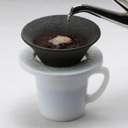 月兎印/ミルクガラス  マグカップ  250ml  使用例