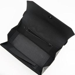 岩佐/西陣織 フォーマルバッグ 組紐飾り |結婚式・卒業式・入学式・法事・パーティー ファスナー式のポケット