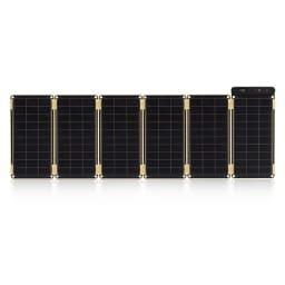 (15W)ソーラー充電器 ソーラーペーパー 15W…パネルは本体を含め最大6枚(2.5W×6枚=15W)まで可能です。
