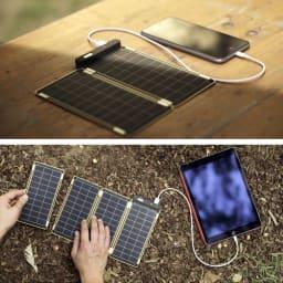 (15W)ソーラー充電器 ソーラーペーパー 太陽光発電