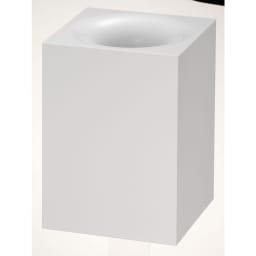 RETTO(レットー)/ダストボックス ゴミ箱 (ア)ホワイト