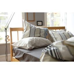 Fab the Home(ファブザホーム)/アティック 掛け布団カバーS 枕カバーは別売りです。(商品番号:NV3960)