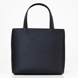 米沢織切替コード刺繍アクセントバッグ back