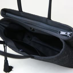 岩佐/コードレース二層式バッグ