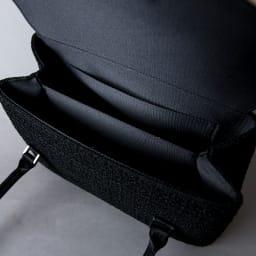 岩佐/米沢織ツイード2本手フォーマルバッグ