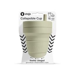 stojo BIGGIE 470ml 折り畳みマイカップ/マイタンブラー