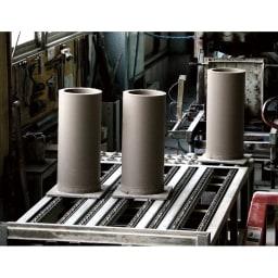 岩尾磁器/有田焼 傘立て轆轤(ろくろ)AM-948 製造工程