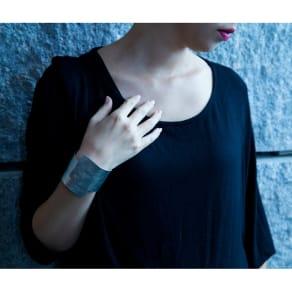 NAGAE+(ナガエプリュス)/(幅50mm)TIN BREATH ティンブレス ブレスレット 写真