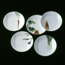 Noritake(ノリタケ)/京香旬彩 15.5cmプレート(お皿)5枚セット(絵変り)|洋食器