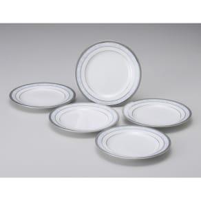 Noritake(ノリタケ)/ハンプシャープラチナ 16cmプレート(お皿)5枚セット|洋食器 写真
