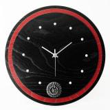 岩谷堂くらしな/丸時計(赤黒) 写真