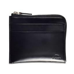 イル・ブッセット 11-070 L字型財布 (ア)ブラック