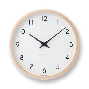Lemnos(レムノス)Campagne(カンパーニュ) ウォールクロック壁掛け電波時計 写真