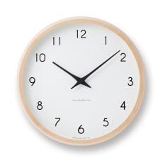 Lemnos(レムノス)Campagne(カンパーニュ) ウォールクロック壁掛け電波時計