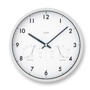 Lemnos(レムノス)Air clock ウォールクロック壁掛け電波時計 写真