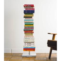 FRAMES&SONS(フレームズアンドサンズ)/キャスター付きブックタワー|本棚 ブックシェルフ ※写真は高さ111.5cmタイプです。