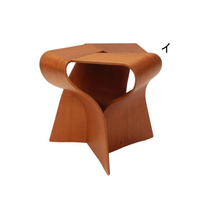 天童木工/マッシュルームスツール(S-7297)|デザイナーズ家具 (イ)チーク