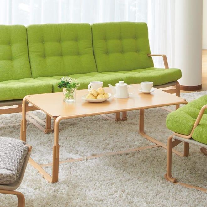 天童木工/Mシリーズセンターテーブル M-0254IT-NT ブルーノ・マットソン|デザイナーズ家具