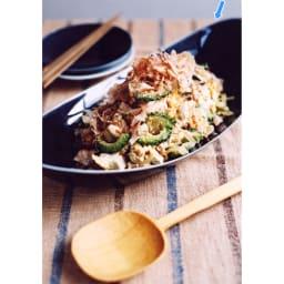 ARITA PORCELAIN LAB(アリタ・ポーセリン・ラボ)/楕円皿(大)sumi/墨ルリ|有田焼 3~4人分の盛り皿としてご使用頂けます。混ぜご飯やチャーハン、パスタはもちろん、かさの多くなる葉もののサラダをざっくりと盛るのにも適しています