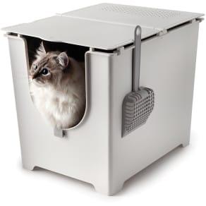 Modkat(モデキャット)/フリップ リターボックス 猫のトイレ 写真