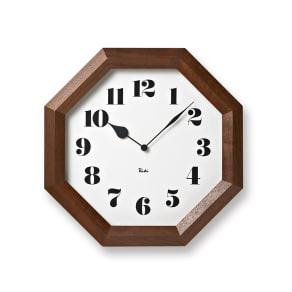 八角の時計 写真