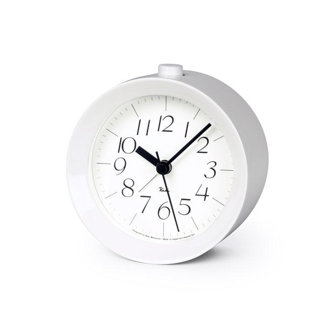 RIKI ALARM CLOCK(リキ アラーム時計) (ア)ホワイト