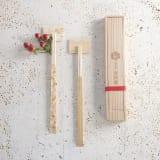 月兎印/吉祥箸2本箸置きセット(木箱入り) 写真