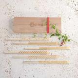 月兎印/吉祥箸6本箸セット(木箱入り) 写真