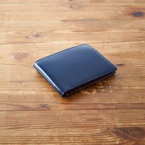GREDEER コードバン 二折れ財布(小銭入れ付) 写真