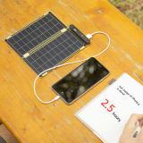 (5W)ソーラー充電器 ソーラーペーパー 写真
