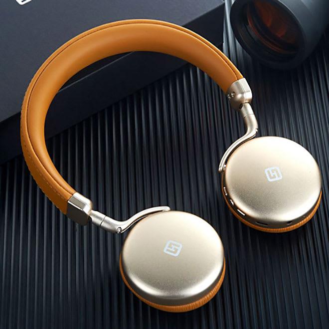 Bluetoothヘッドフォン TURBO2 (イ)ゴールド