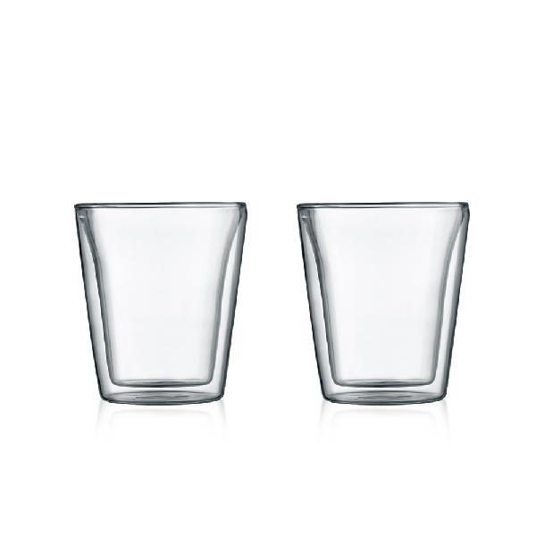 bodum(ボダム)/キャンティーン ダブルウォールグラス0.2L 2pcs