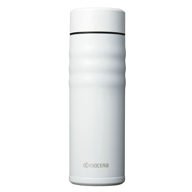 KUYOCERA(京セラ)/セラブリッドマグボトル500ml スクリュー (ウ)ホワイト