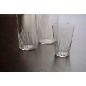 廣田硝子(ヒロタガラス)/東京復刻ガラス BRUNCH 千本 2オンスタンブラー 写真