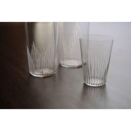 廣田硝子(ヒロタガラス)/東京復刻ガラス BRUNCH 千本 2オンスタンブラー