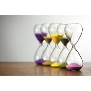 廣田硝子(ヒロタガラス)/砂時計:シンプルな5分 写真
