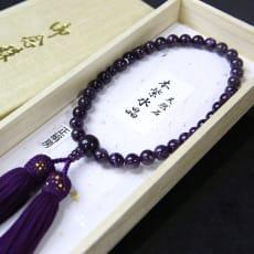 岩佐/<女性用>天然石 本紫水晶念珠