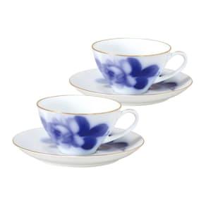 大倉陶園(おおくらとうえん)/ティー・コーヒー碗皿ペアセット 写真