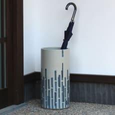 岩尾磁器/有田焼 傘立てPETIT MODERN(プティモダン)AM-32H