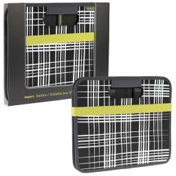 meori ストレージボックス ブラッシュライン Sサイズ (ア)ブラック