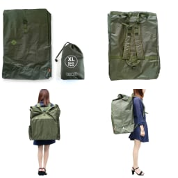 XL Backpack (イ)カーキ