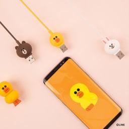充電&データ Type-Cケーブル|LINE FRIENDS(ラインフレンズ)