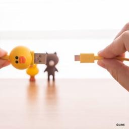 充電&データ Micro USBケーブル|LINE FRIENDS(ラインフレンズ)