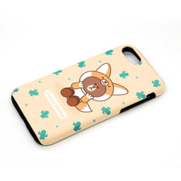 iPhone 8/7用 スマホケース ジャングルブラウン|LINE FRIENDS(ラインフレンズ) (ウ)キツネ