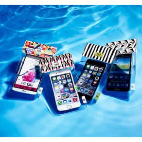 スマートフォン用防水ポーチ bikit2 写真
