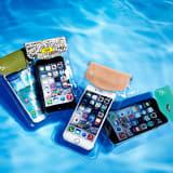 スマートフォン用防水ポーチ カジュアル bikit 写真