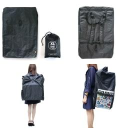 XL Backpack (ア)ブラック