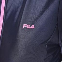 FILA(フィラ)/無地ストレッチラッシュガード (ア)ブラック